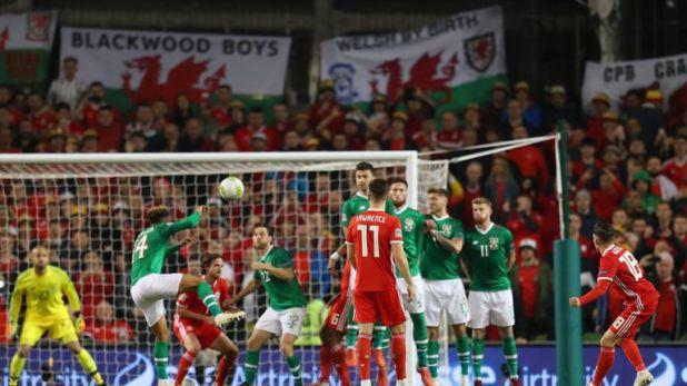 Harry Wilson scored a stunning free-kick