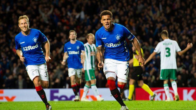 Rangers beat Rapid Vienna 3-1 at Ibrox