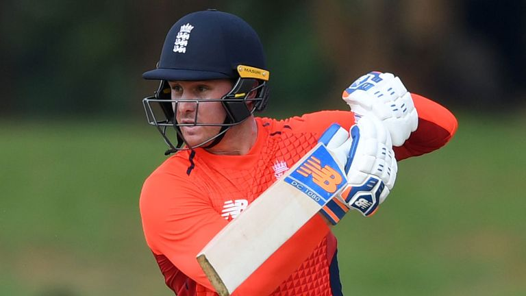 Roy has made 24 and 0 in the first two ODIs against Sri Lanka this winter
