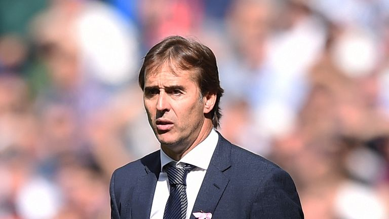 The future of Julen Lopetegui at Real Madrid is in doubt