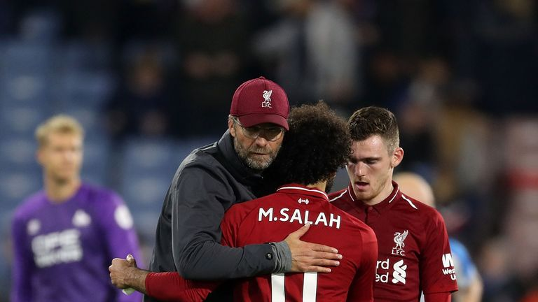 Jurgen Klopp insists he has never had any doubts about Mo Salah's form this season.