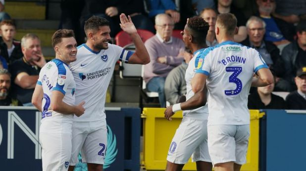 Portsmouth beat AFC Wimbledon to stay top of Sky Bet League One