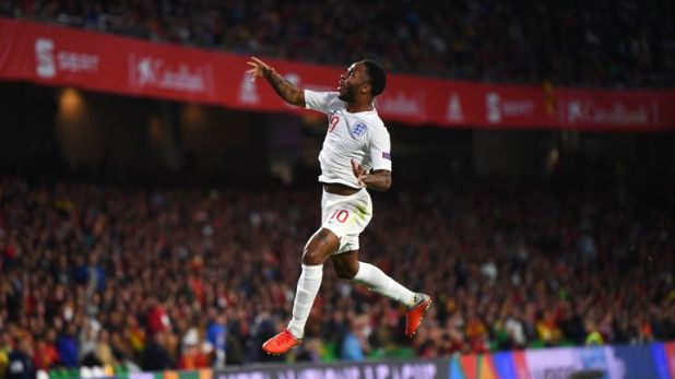 Sterling scored in England's recent 3-2 Nations League win over Spain
