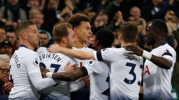 Tottenham are three points ahead of Arsenal in the Premier League table and won 1-0 in their last meeting in February