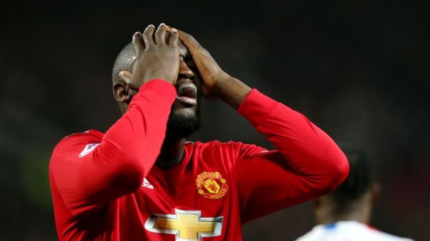 Romelu Lukaku frequently cuts an isolated figure for United