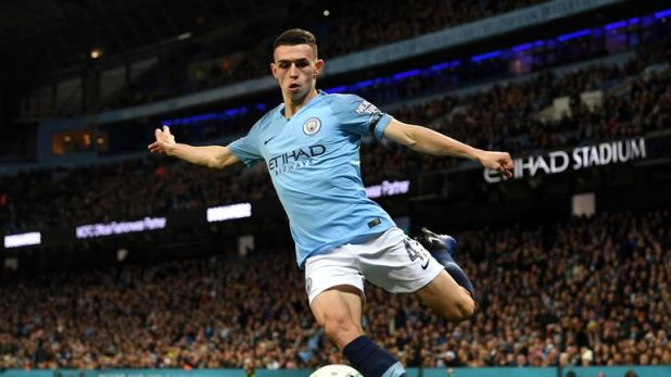Phil Foden scored his third career goal against Burton on Wednesday