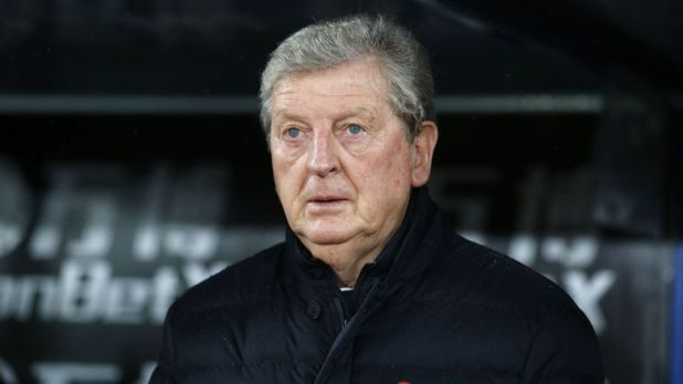 Roy Hodgson saw his Crystal Palace side beaten by Tottenham