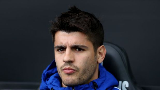 Alvaro Morata is an injury doubt for Chelsea