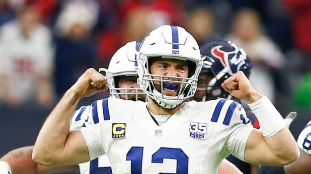 Andrew Luck is second only to Patrick Mahomes in passing touchdowns this season