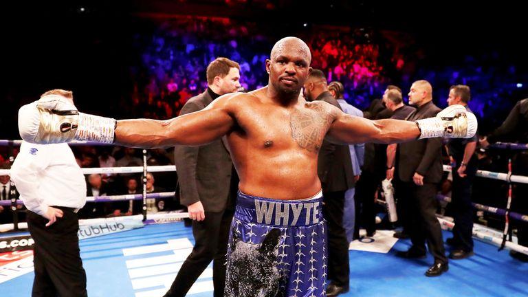 Dillian Whyte knocked out Derek Chisora in December