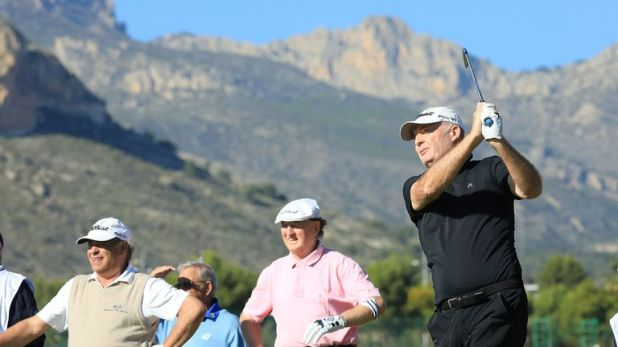 Darcy was one birdie away from shooting his age in Spain