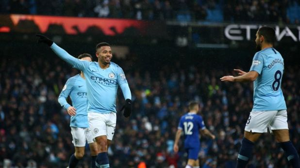 Manchester City remain favourites to win the Premier League title this season
