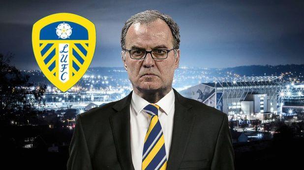 Leeds head coach Marcelo Bielsa's future is up in the air