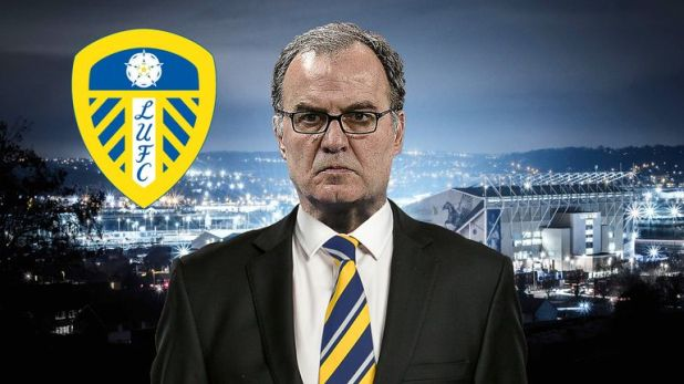 Leeds head coach Marcelo Bielsa's future is up in the air