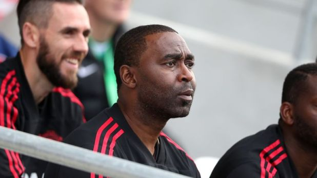 Andy Cole's experience is benefiting the players, says Campbell