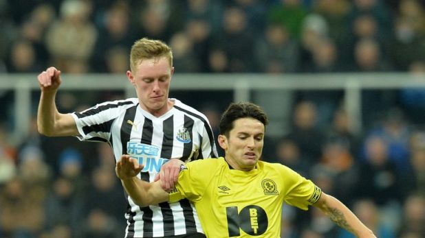 Newcastle face Blackburn in their FA Cup third-round replay