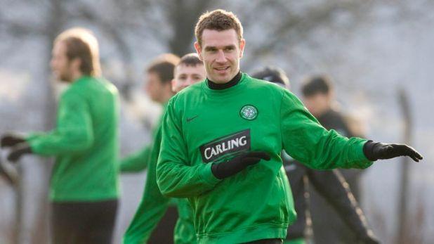 Stephen McManus has returned to Celtic
