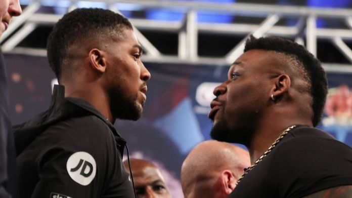 Anthony Joshua will be in New York on Jarrell & # 39; Big Baby & # 39; Meet Miller