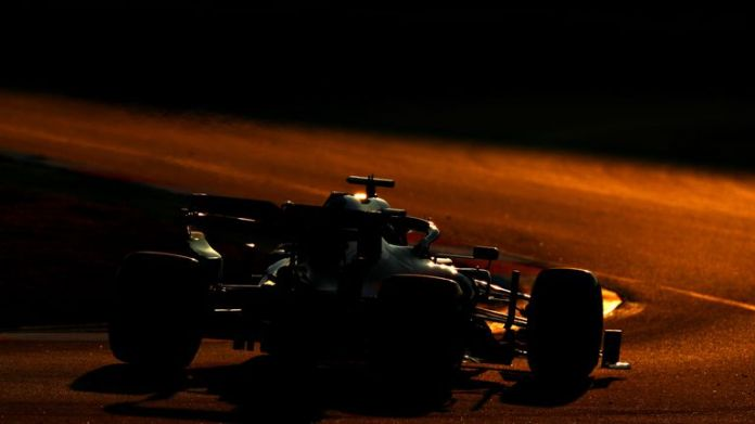 Daniil Kvyat drives off into the sunset ...