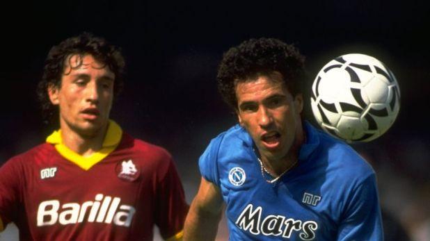 Careca's partnership with Maradona gets him the nod up front
