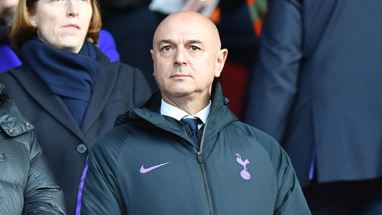 Daniel Levy met with Pochettino for dinner on Thursday