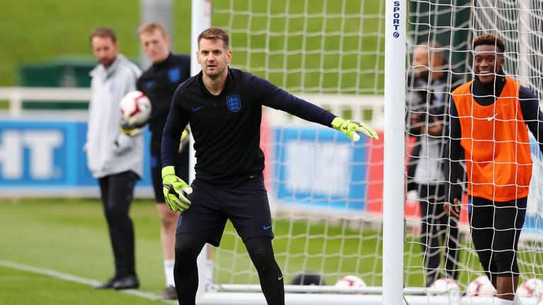 Heaton was part of Gareth Southgate's England squad for the Nations League finals earlier this summer