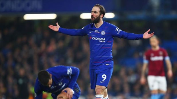 West Ham are interested in signing Gonzalo Higuain - Sky in Italy