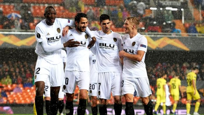 Valencia has reached the semi-finals of the Europa League