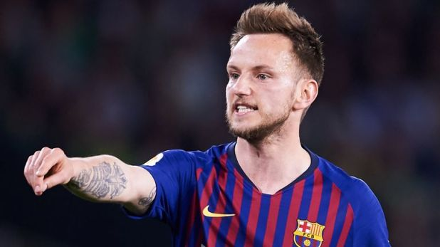 Ivan Rakitic was named on the bench for Barcelona'a La Liga defeat to Athletic Bilbao on Friday