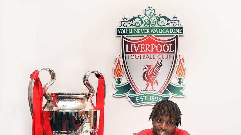 Divock Origi has signed a new deal at Liverpool