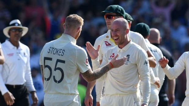 Stokes and Jack Leach saw England to victory