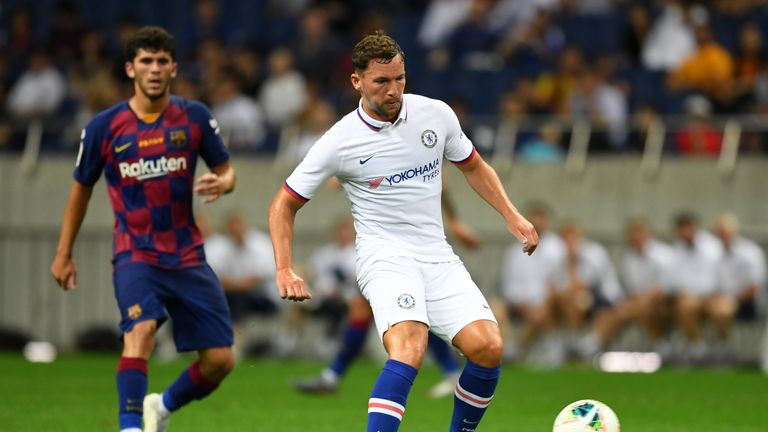 Danny Drinkwater has made only 23 appearances in all competitions for Chelsea