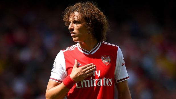 David Luiz completed a Deadline Day switch from Chelsea to Arsenal