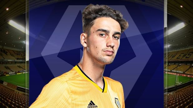 Max Kilman is the England futsal international now playing for Wolves