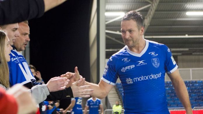 Danny McGuire spent two years as a player at Hull KR following a glittering career with Leeds Rhinos