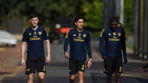 Hector Bellerin is back in training and close to a return to action