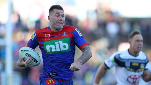 Shaun Kenny-Dowall has made almost 300 appearances for Sydney Roosters and Newcastle Knights.