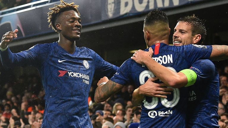 Image result for chelsea 2-1 lille