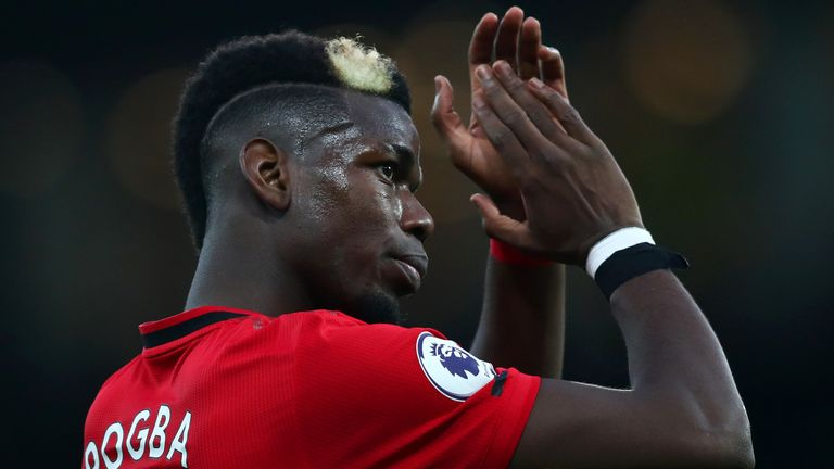 Paul Pogba's future has been the subject of much speculation