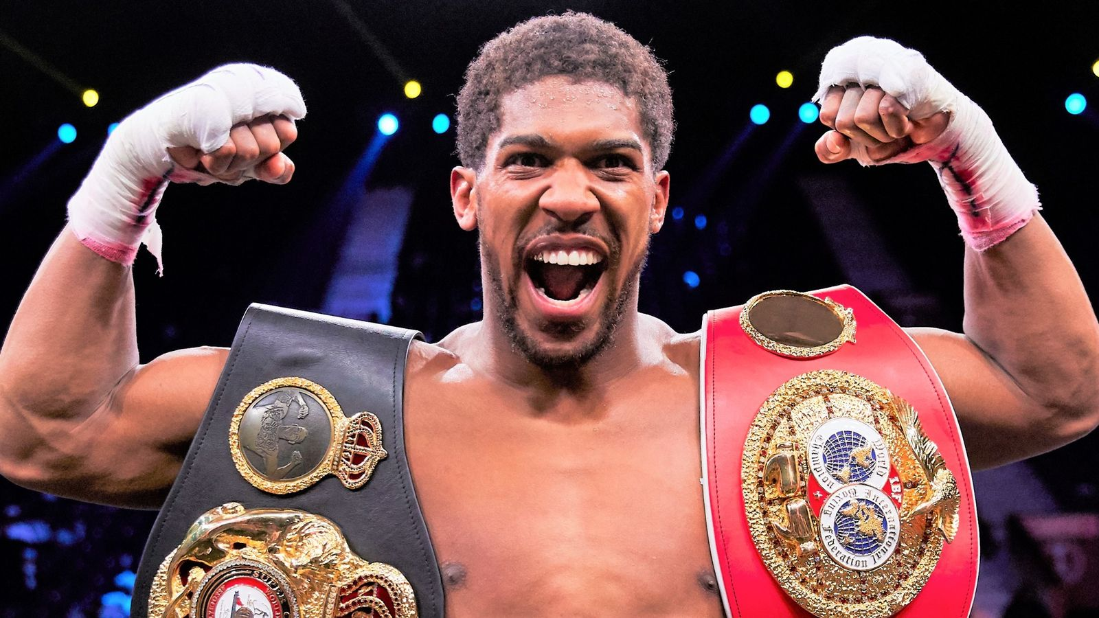 """Anthony Joshua Receives """"Huge Site Offer"""" to Face Deontay Wilder-Tyson Fury Winner in Saudi Arabia 