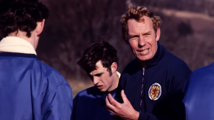 Scottish manager Bobby Brown in 1969