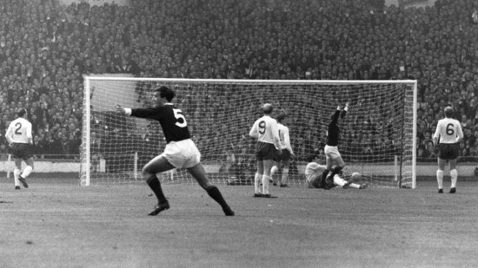 Scotland beat England 3-2 in 1967