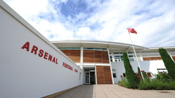 Arsenal players allowed to train individually at London Colney