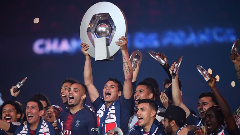 PSG have won their seventh league title in eight years