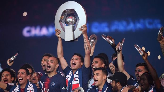 PSG wins its seventh champion title in eight years