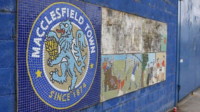 Macclesfield Town were relegated from League Two last season