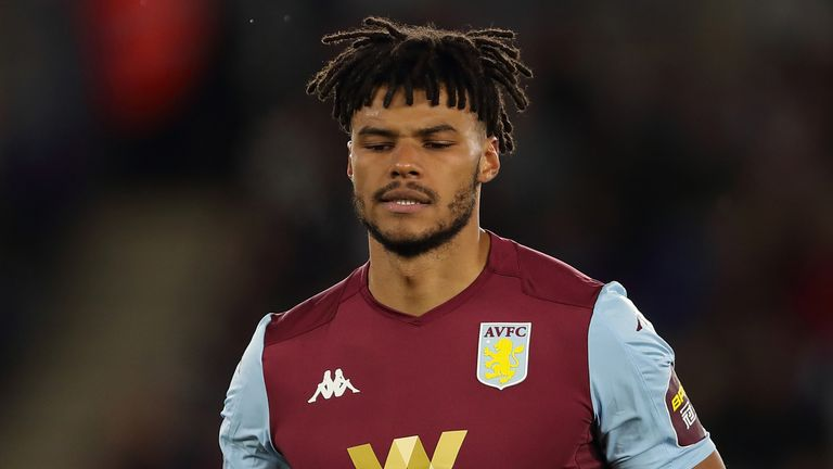Tyrone Mings attended a Black Lives Matter protest in Birmingham