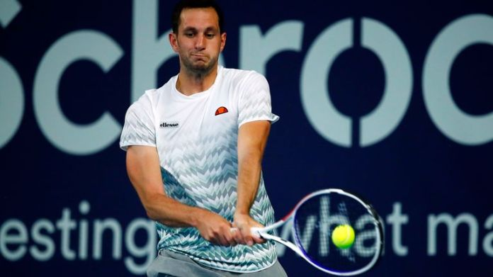 James Ward came through in fine style against Liam Broady