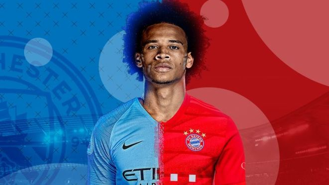 Leroy Sane is set to move to Bayern Munich from Manchester City