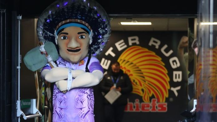 Exeter withdrew mascot from 'big boss' after internal review